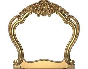 carved frame decor picture-frame 3D