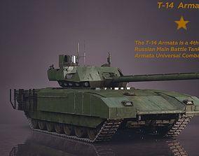 3D model PBR T-14 Armata