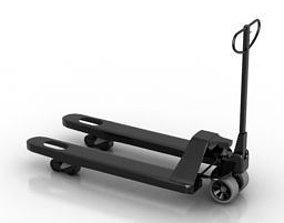 trolley industrial 3D model