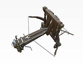 Roman Arrow Ballista 3D model