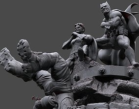 Batman y Robin 3D print model league
