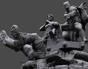 Batman y Robin 3D printable model