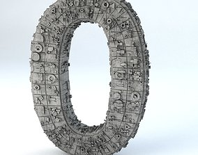 Sci Fi Shapes The Numbers 3D