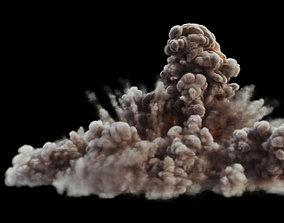 animated FumeFx Heavy Detonation Asset