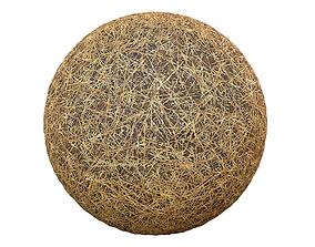 Dirt Hay Tile Material 3D