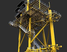 Lean to platform 3D model