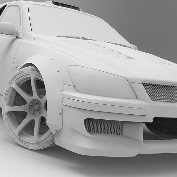 Concept Toyota Altezza for RDS