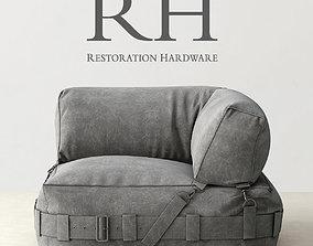 Restoration Hardware corner lounge sofa 3D