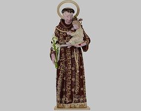 saint anthony of padua 3D