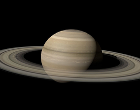 Saturn Realistic 3D