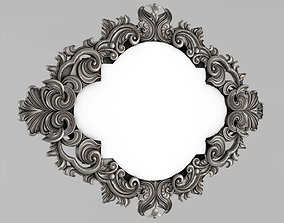 Frame mirror 3D printable model elements