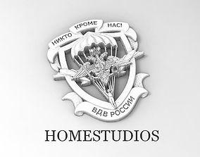 Emblem of Russian airborne assault 3D print model