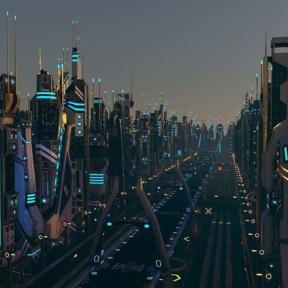 Sci-Fi City Package