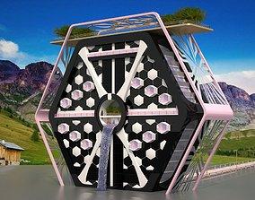 The Hexagonal Exterior Design 3D model