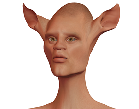 Character Fantasy High-poly male 03 3D
