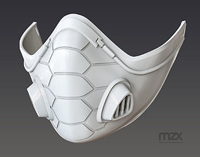 Valorant Viper mask 3D printable model