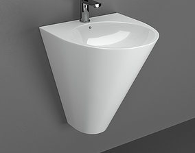 3D Volle Olivia sink and faucet