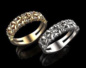 3D print model Wedding Rings N5