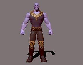 3D thanos model comic