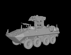 LAVAT AntiTank MissileCarrier 3D model
