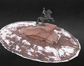 3D model The Bronze Horseman