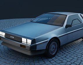 car DeLorean DMC-12 3D model