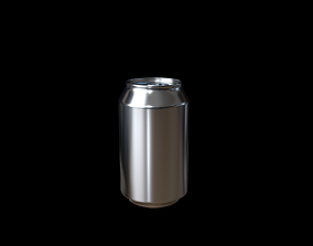 3D animated Distorted Can