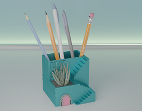 3D printable model succulent plant pot 33