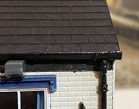 ROOF GUTTER 7MM SCALE O GAUGE MODEL RAIL 1 AND A HALF MM