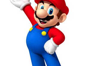 Super Mario Character 3D print model