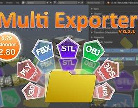 Multi Exporter v 0 1 1 3D