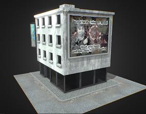 Abstract Building 01 3D asset