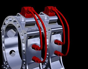 MSD ignition performance part - rotary engine 3D model