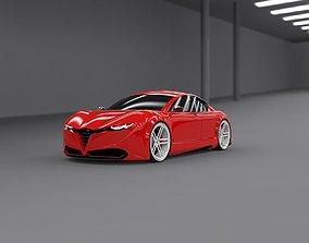 Alfa coupe original design 3D model