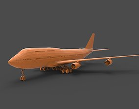 Boeing 747 3D print model