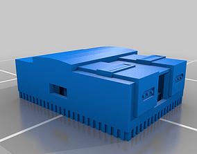 3D raspberry pi snes case snap together