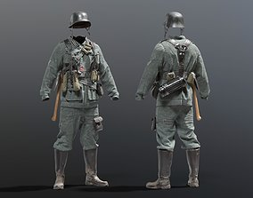 SOLDIER WWII Germany 3D