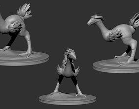 chocobo 3D print model