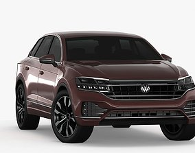 3D model game-ready Volksvagen Touareg 2019