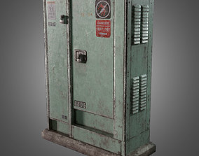 Power Junction Box - PBR Game Ready 3D model