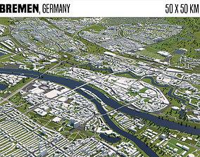 Bremen Germany 3D model building