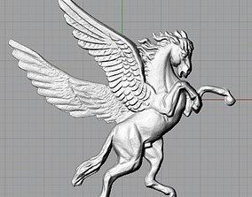 ngua con 3D model