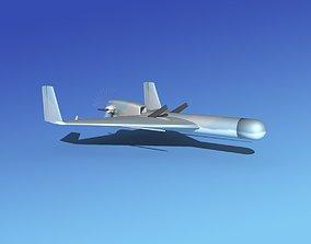 Harpy 1 UAV V03 3D model