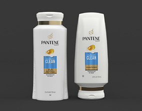 Pantene Pro-V Classic Clean Shampoo and Conditioner 3D