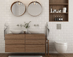 3D Furniture and decor for the Bathroom