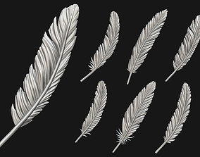 Feather Set 3D print model