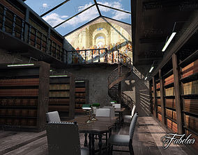 Library 01 3D