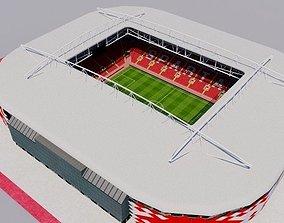 Otkrytiye Arena - Spartak Moscow 3D model