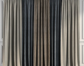 Curtain Set 83 3D model