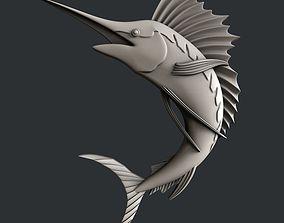 3d STL models for CNC swordfish